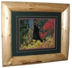 Log Picture Frame Examples