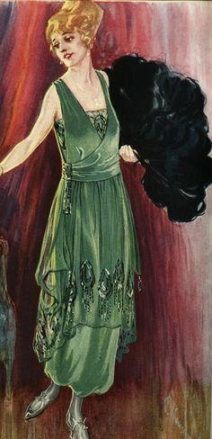 Ladies' & Gentlemen's Evening Dress 1910-1920