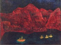 Klee, South Coast in the evening, 1925.
