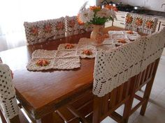 Crochet Magazine: Beautiful crochet for different tables