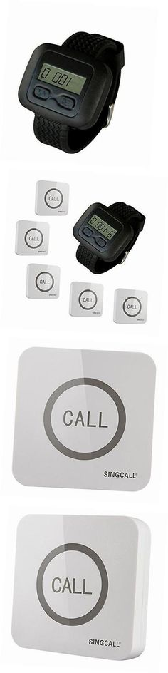 Pagers: ® Wireless Calling System, Service Calling, Home Caring, Can Be Pin On The Wall, -> BUY IT NOW ONLY: $130.99 on eBay!