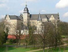 Schloss Wolfsburg in Wolfsburg, Germany.