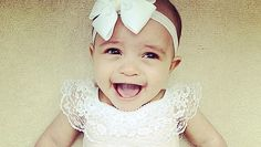 Meet bow-tiful Anaiya! #BabyOfTheMonth #May