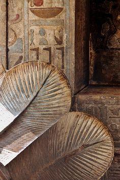 Edfu temple detail, Egypt