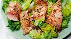 Salmon loin is a cut that I'd normally think best suited to curing, but I've found this long fleshy fillet lends itself very well to brief, high-heat roasting. I like my salmon to veer towards...