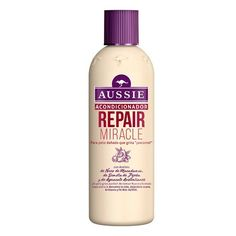 Aussie Repair Miracle Shampoing Pour Cheveux Abîmés Qui Crient « À L'Aide Aussie Conditioner, Hair Conditioner, Sephora, Argan, Hygiene, Damaged Hair, Dry Hair, Vodka Bottle, Benefit Brow