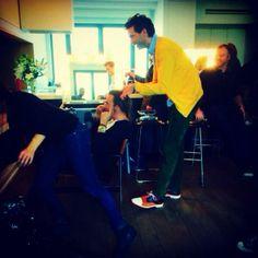 Florent Pagny et Mika se prépare pour The Voice