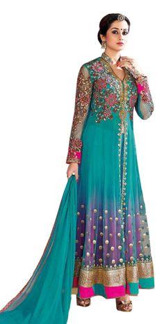 Wedding Designer Anarkali Salwar Kameez Indian Pakistani Ethnic Suit Bollywood