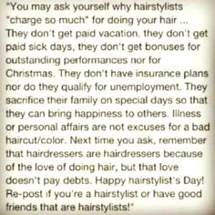 Hairdressers ❤✂