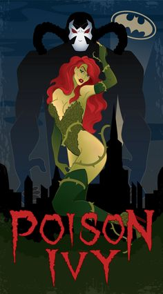 poison ivy & bane