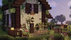 Minecraft House Plans, Minecraft Cottage, Cute Minecraft Houses, Minecraft House Designs, Amazing Minecraft, Minecraft Blueprints, Minecraft Crafts, Minecraft Buildings, Minecraft Stuff