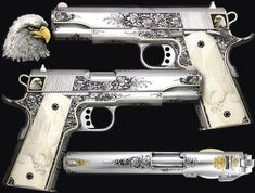 Look at these Vintage Silver guns....MFN beautiful. I think they are circa 1911... But not sure.