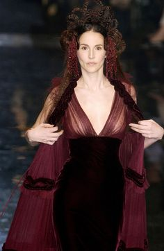"""Jean Paul Gaultier Fall 2005....hahahaha I found this when searching for """"Melisandre cosplay""""..."""