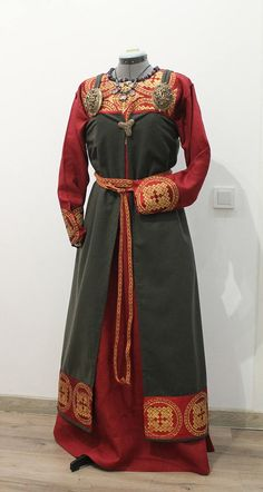 Open front apron dress