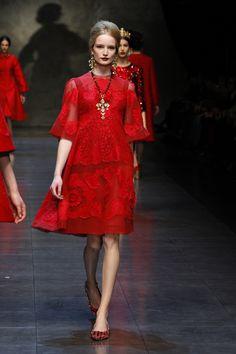 Dolce & Gabbana – Gallery Sfilata Donna - Autunno Inverno 2014
