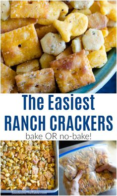 Quick Snacks, Yummy Snacks, Yummy Food, Easy Christmas Candy Recipes, Christmas Treats, Seasoned Oyster Crackers, Ranch Crackers, Snack Mix Recipes, Cereal Mix