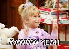 Michelle Tanner, Full House Michelle, Full House Funny, Full House Tv Show, Birth Order, Mary Kate Ashley, Fuller House, Olsen Twins, Happy Dance