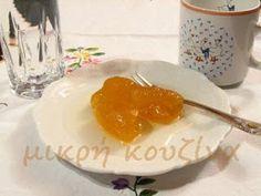 μικρή κουζίνα: Γλυκό κουταλιού νεράντζι-Αρωματική ζάχαρη με νεράντζι Greek Beauty, Breakfast, Dip, Food, Morning Coffee, Salsa, Essen, Meals, Yemek
