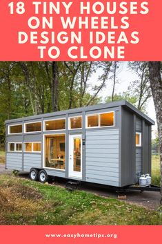 Tiny house has been almost everyone's dream. Many people are willing to spend a lot of money to get professionals build it for them. Meanwhile, many others enjoy the building process, even though Timbercraft Tiny Homes, Steel Cladding, Tumbleweed Tiny Homes, Transforming Furniture, Best Tiny House, Building A Tiny House, Little Houses, Tiny Houses, Cozy Cabin