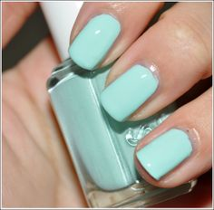 Essie-- Mint Candy Apple