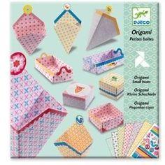 Origami doosjes vouwen