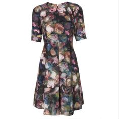 Paul Smith Women's Dresses | Romantic Rose Print Dress