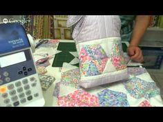 Patchwork Ao Vivo com a Tia Lili #9: como fazer uma bolsa com retalhos (scraps)