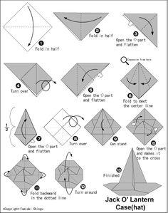 origami skull instructions fall decor pinterest origami rh pinterest com