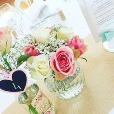 ♡Déco du mariage♡ Mes centres de table 🌹