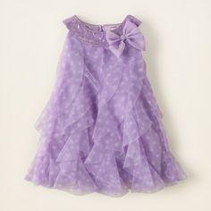BabyElanDaily.com really liked our purple Cascade Dot Swing Dress for baby girls.