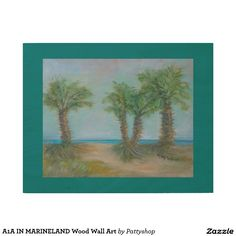 A1A IN MARINELAND Wood Wall Art