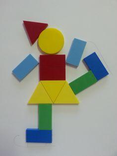 Shape Collage, Shape Art, Art N Craft, Craft Stick Crafts, Preschool Worksheets, Preschool Activities, Drawing For Kids, Art For Kids, Toddler Crafts