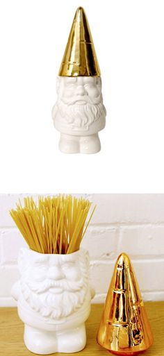 Go Gnome! - love this cute container from imm living