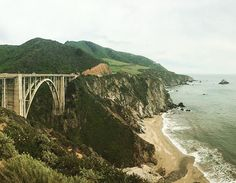 Happy #earthday  #brixby #bridge #monterey #highway1 #pacificcoast #nature #photography #outandabout #explorecalifornia #westcoast #california #bigsur #adventure #ourplanetdaily #beautifuldestination #lovetravel #igtravel #calocals - posted by Bando https://www.instagram.com/band1sha - See more of Big Sur, CA at http://bigsurlocals.com