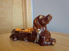 Vintage Dachshund Snack Holder by fridayfindsmama on Etsy, $26.00