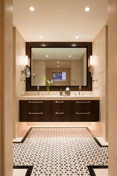 Gold Coast Residence - Современный - Ванная комната - chicago - от эксперта Robyn Shapiro Design