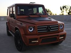 mercedes benz g wagon | Mercedes-Benz G55 AMG Power Wagon | Elite Daily