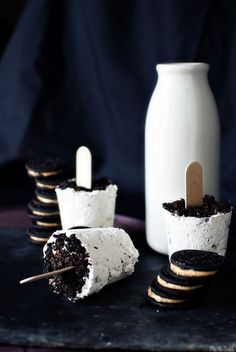 Peanut Butter Oreo Popsicles | Community Post: 17 Delicious Recipes That Take Oreos To The Next Level
