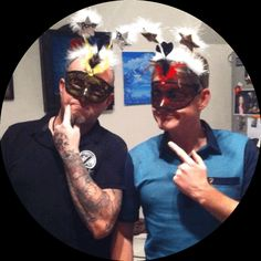 Happy new year and may 2014 bring you good fortune from the Crime fighting duo Tattman and Ink.