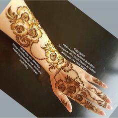 70 Super Ideas For Tattoo Lotus Mandala Roses - Tattoo! Modern Henna Designs, Henna Tattoo Designs Simple, Indian Henna Designs, Latest Henna Designs, Floral Henna Designs, Stylish Mehndi Designs, Mehndi Designs 2018, Mehndi Designs For Girls, Henna Designs Easy
