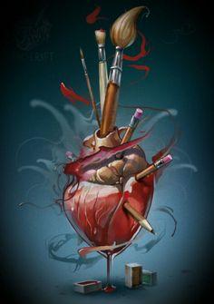 Image result for likable art sacred heart