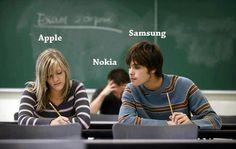 Apple, Samsung, Nokia...