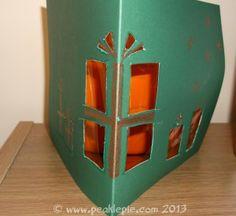 Children's Crafty Christmas Cards - Peakle Pie