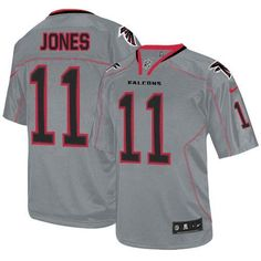 b8e282ffb Men Nike NFL Arizona Cardinals  11 Larry Fitzgerald Lights Out Grey Limited  Jersey forsale at