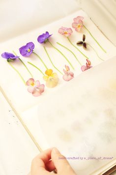 a_piece_of_dream2-170128-ふ Pressed Flower Art, Resin Crafts, Resin Jewelry, Diy And Crafts, Miniatures, Hair Accessories, Jewels, Beads, Crystals