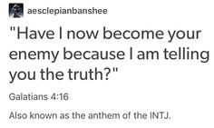 Apostle Paul was likely an INTJ...He knows the feeling man