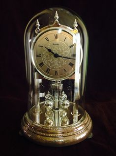 Anniversary Clock Jewels And Clock On Pinterest