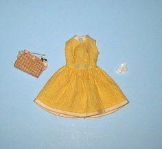 Mod Barbie Japanese Exclusive Yellow Waffle Weave Sundress