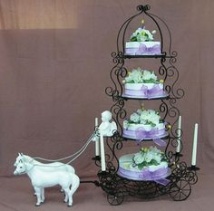 cinderella sweet 16 ideas | cinderella carriage cake stand by cinderella carriage this shop ...