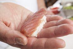 #sushi Sea Bass, Camembert Cheese, Sushi, Salmon, Food, Essen, Meals, Atlantic Salmon, Yemek